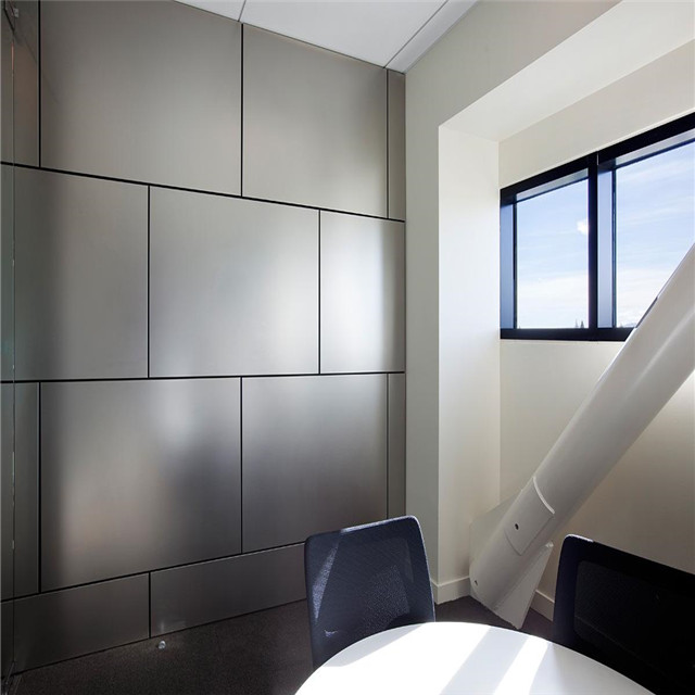 interior wall aluminum composite cladding