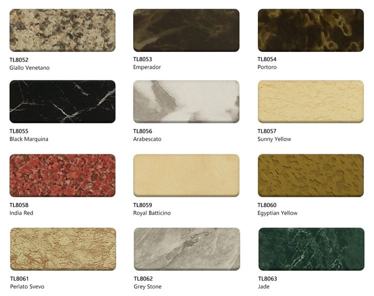 Marble Aluminum Composite Panel colors