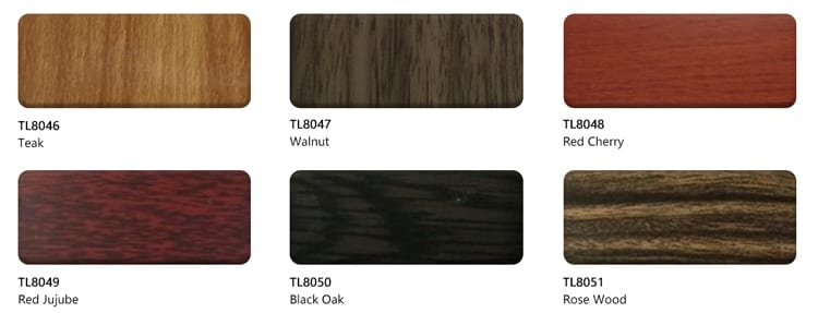 wooden acp sheet colors