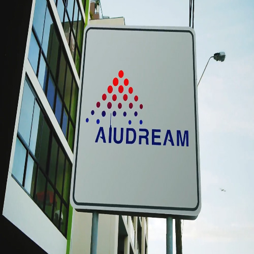 aluminium composite sign