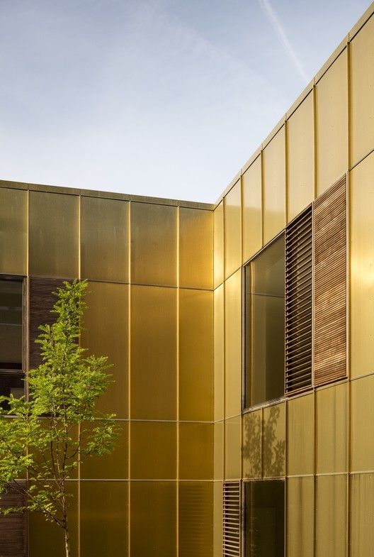 golden mirror aluminum composite panel