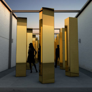 golden mirror aluminum composite panels for sale